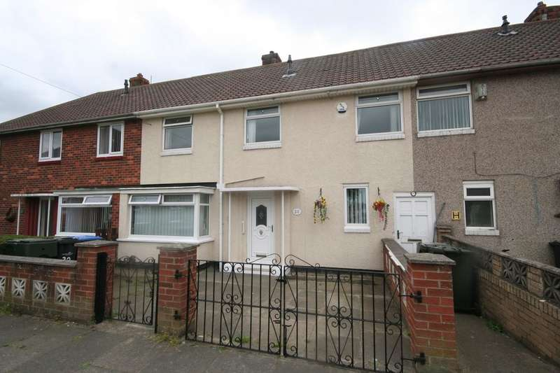 3 Bedrooms Semi Detached House for sale in Penhill Close, Berwick Hills, Middlesbrough, TS3