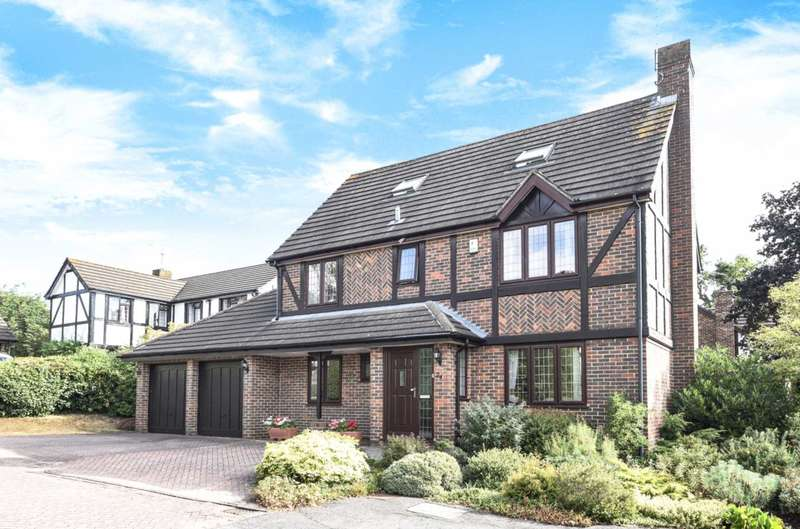 5 Bedrooms Detached House for sale in Kerris Way, Earley, Reading