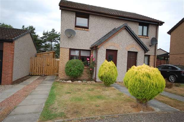 2 Bedrooms Semi Detached House for sale in Drainie Way, Lossiemouth