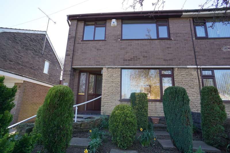 3 Bedrooms Semi Detached House for sale in Crabtree Drive, Norwood, Sheffield, S5 7AZ