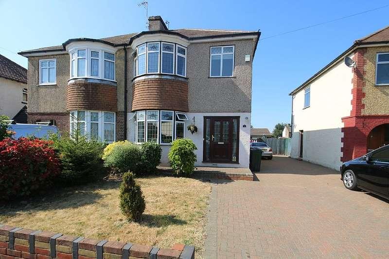 4 Bedrooms Semi Detached House for sale in St. James Lane , Dartford, Kent, DA9
