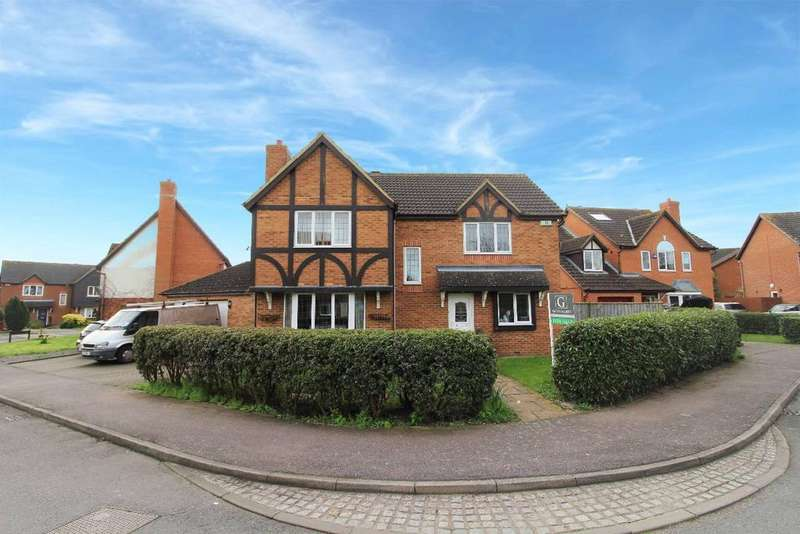4 Bedrooms Detached House for sale in Summerfield Drive, Wootton MK43
