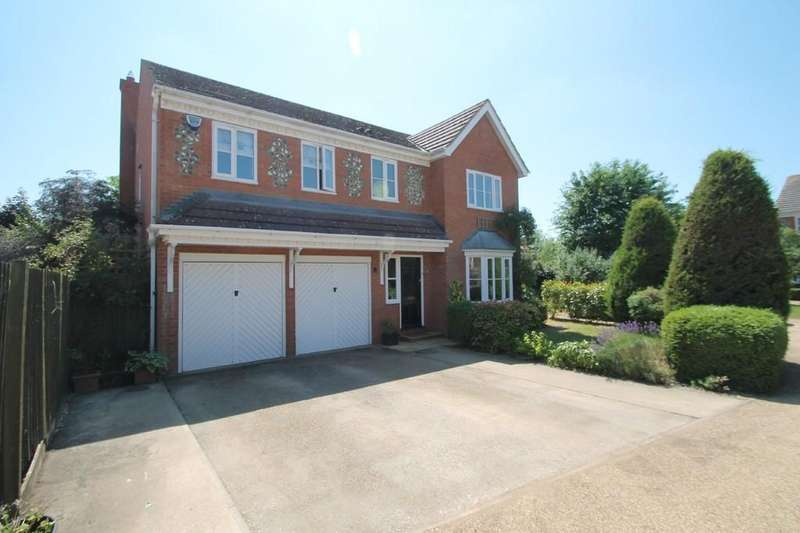 5 Bedrooms Detached House for sale in Kestrel Way, Aylesbury