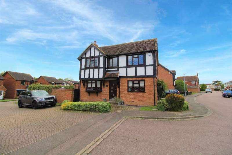 4 Bedrooms Detached House for sale in Naylor Avenue, Kempston MK42