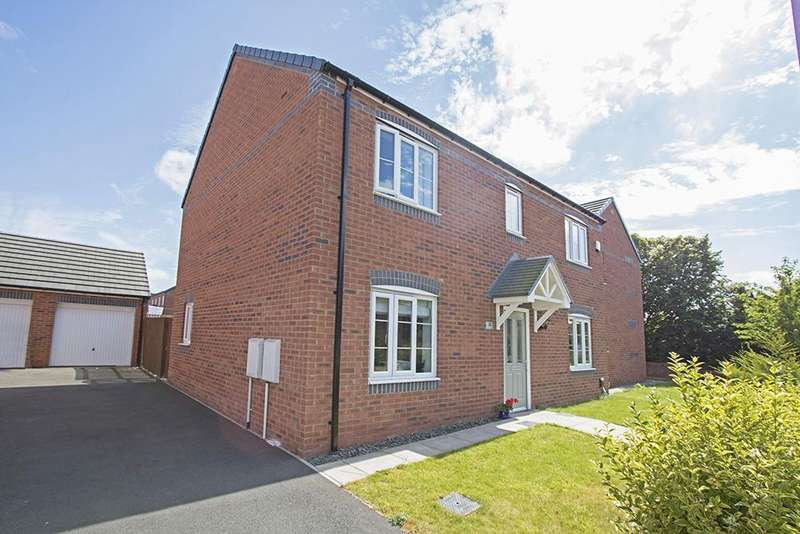 4 Bedrooms Detached House for sale in Gilkes Walk, Middlesbrough TS4