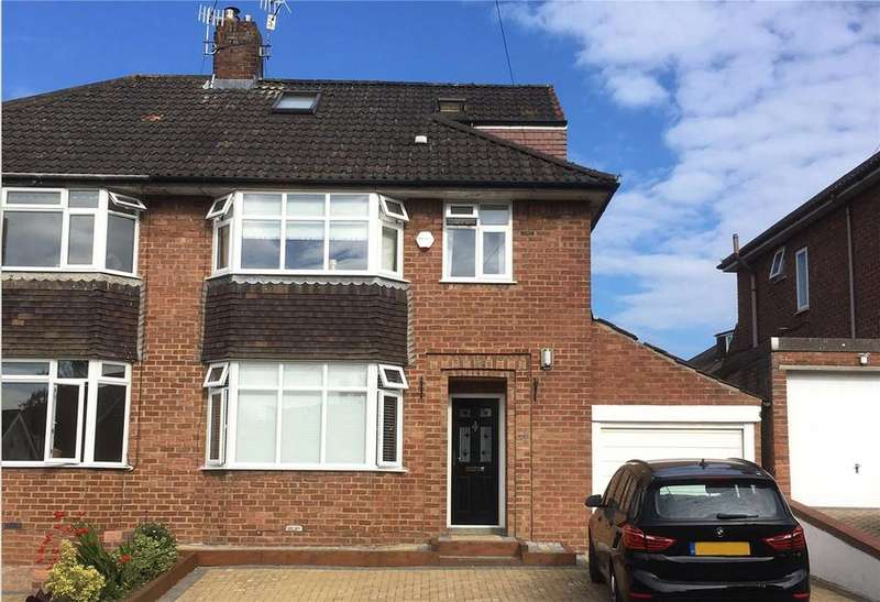 4 Bedrooms Semi Detached House for sale in Priory Court Road, Westbury-on-Trym, Bristol, BS9