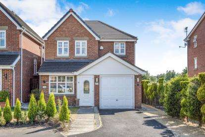 4 Bedrooms Detached House for sale in Meadowgate, Springfield, Wigan, Greater Manchester, WN6