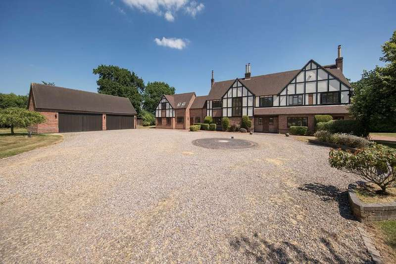 6 Bedrooms Detached House for sale in Rotherhams Oak Lane, Hockley Heath