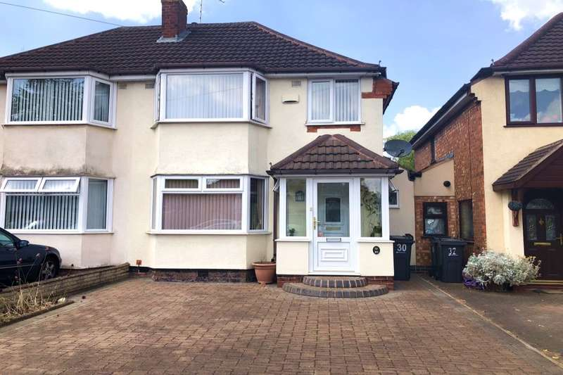 3 Bedrooms Semi Detached House for sale in Falmouth Road, Hodge Hill, Birmingham, B34
