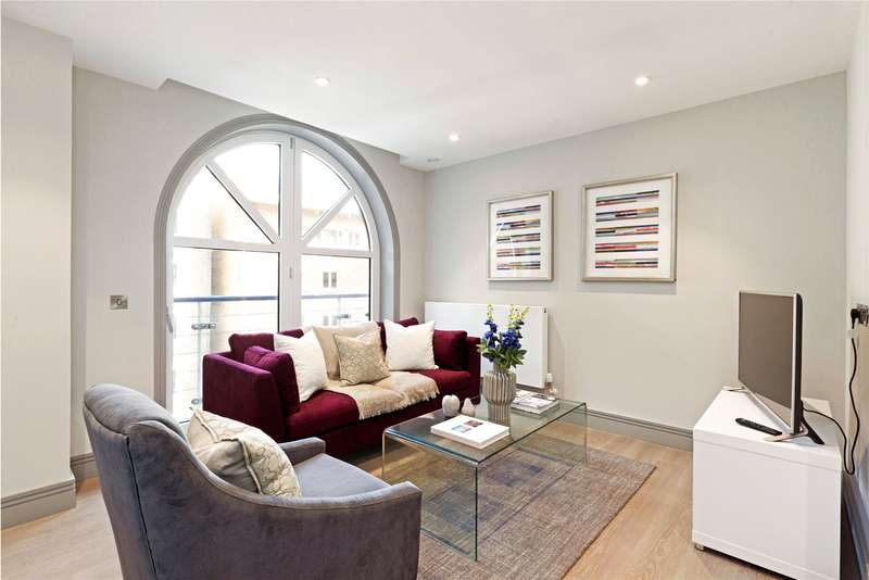 2 Bedrooms Flat for sale in Ivory House West, Plantation Wharf, Battersea, London, SW11