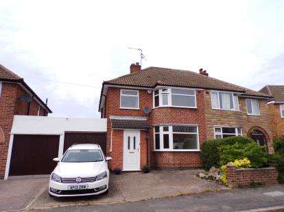 3 Bedrooms Semi Detached House for sale in Ingleby Road, Wigston, Leicester, Leicestershire