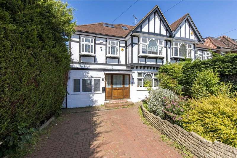 5 Bedrooms Semi Detached House for sale in Deansway, London, N2