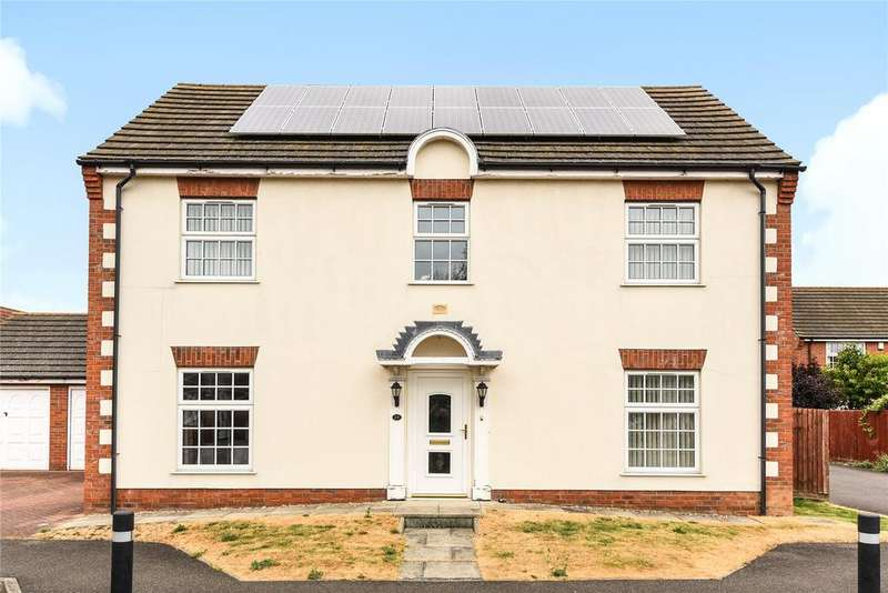 4 Bedrooms Detached House for sale in Archibald Walk, Boston, PE21