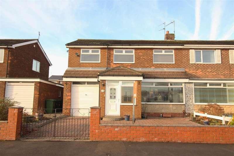 4 Bedrooms Semi Detached House for sale in Briardene Drive, Wardley, Gateshead
