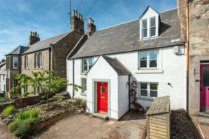 3 Bedrooms End Of Terrace House for sale in Pottery Cottage, 57/59 Castle Street, Duns, Scottish Borders, TD11