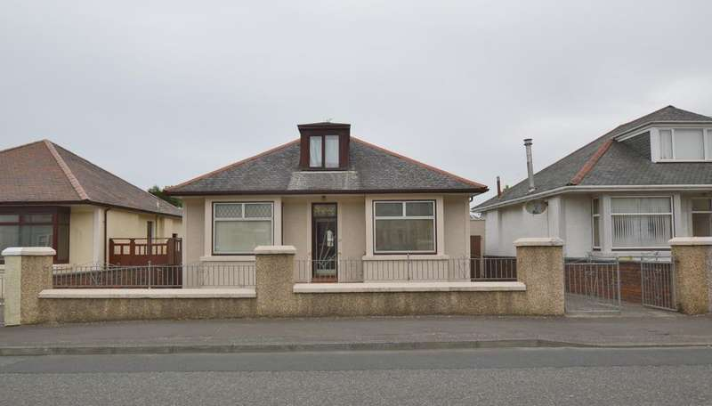 3 Bedrooms Detached Bungalow for sale in 22 Sharphill Road, SALTCOATS, KA21 5NP