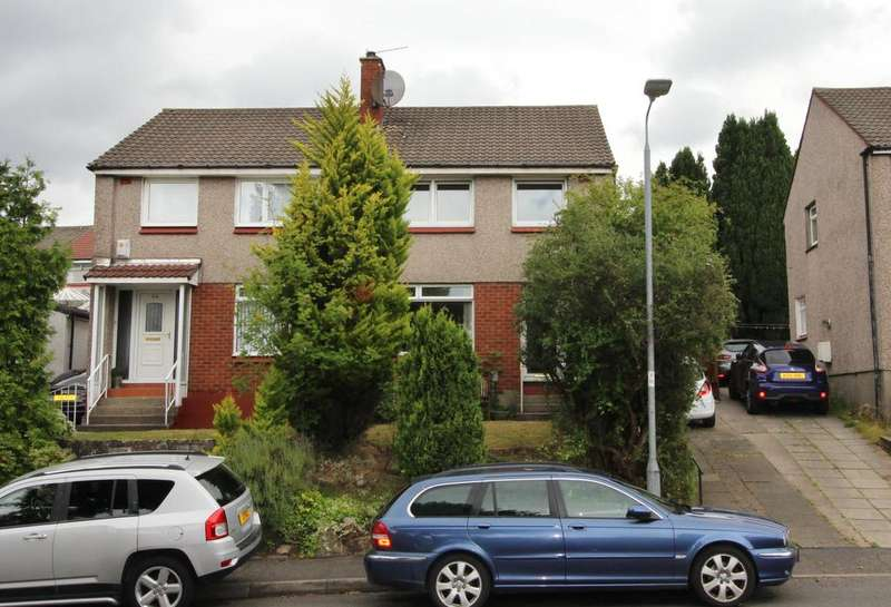 3 Bedrooms Semi Detached House for sale in 52 Breval Crescent, Hardgate, G81 6LR