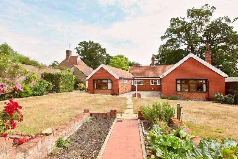 3 Bedrooms Detached Bungalow for sale in High Street, Sproughton, Ipswich, IP8 3AP