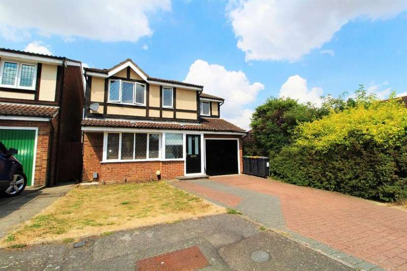 4 Bedrooms Detached House for sale in Ripon Close, Kempston, MK42