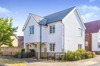 4 Bedrooms Detached House for sale in Hogsden Leys, St. Neots, Cambridgeshire