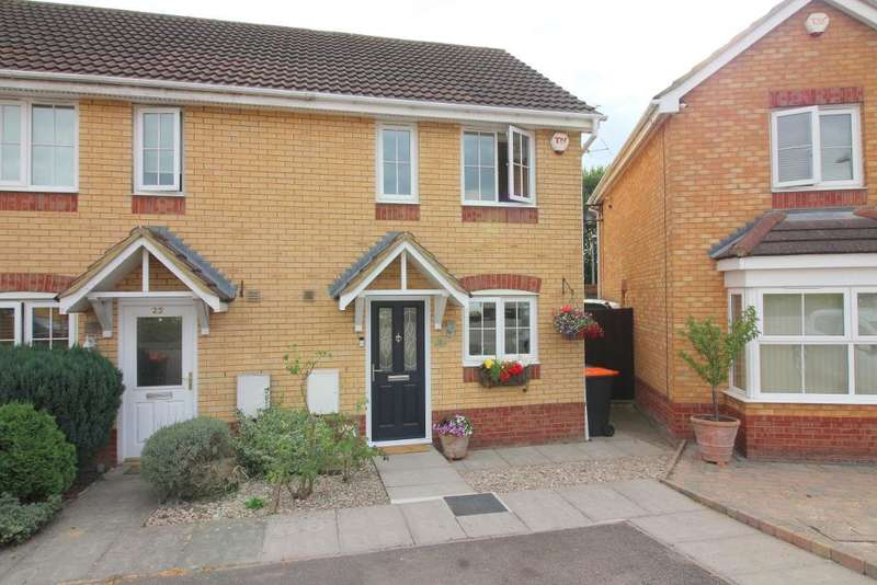 2 Bedrooms End Of Terrace House for sale in Farriers Way, Houghton Regis, Bedfordshire, LU5 5FF