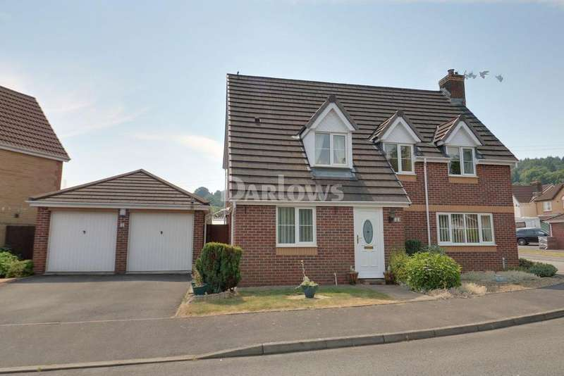 4 Bedrooms Detached House for sale in Ger Nant, Forge Mill, Ystrad Mynach