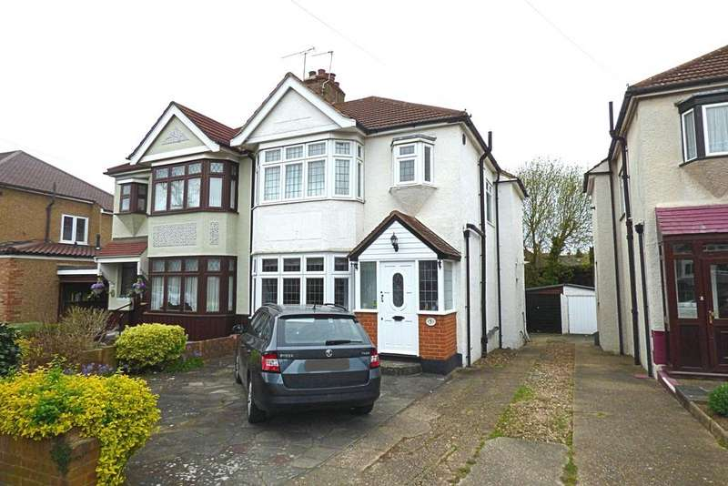 3 Bedrooms Semi Detached House for sale in Meadowside Road, Upminster RM14