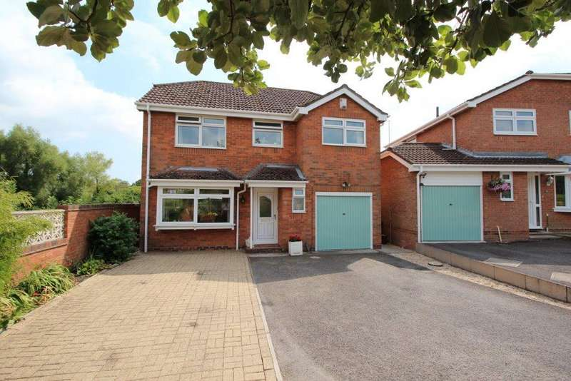 4 Bedrooms Detached House for sale in Downscroft Gardns, Hedge End SO30
