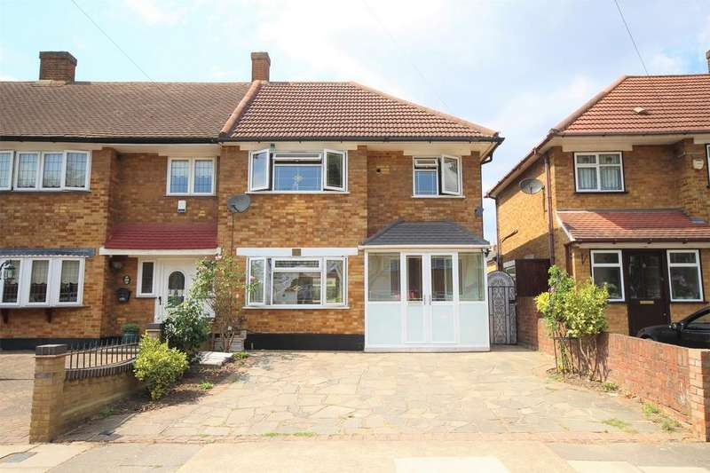 3 Bedrooms End Of Terrace House for sale in Nelson Road, Rainham, Essex