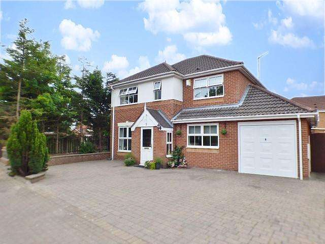 4 Bedrooms Detached House for sale in Selby Close, Sandymoor, Runcorn