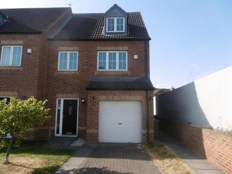 3 Bedrooms Town House for sale in Handel Court, Gainsborough, DN21 2FD