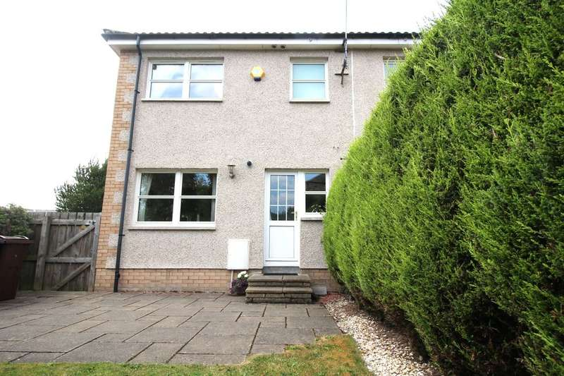 3 Bedrooms Semi Detached House for sale in Deanbank Place, Gorebridge, EH23