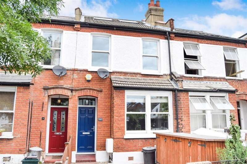 3 Bedrooms Terraced House for sale in Effra Road, Wimbledon