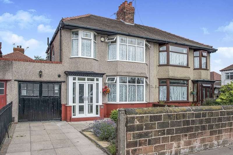 3 Bedrooms Semi Detached House for sale in Queens Drive, LIVERPOOL, L13