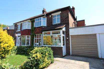4 Bedrooms Semi Detached House for sale in Bangor Road, Cheadle, Cheshire