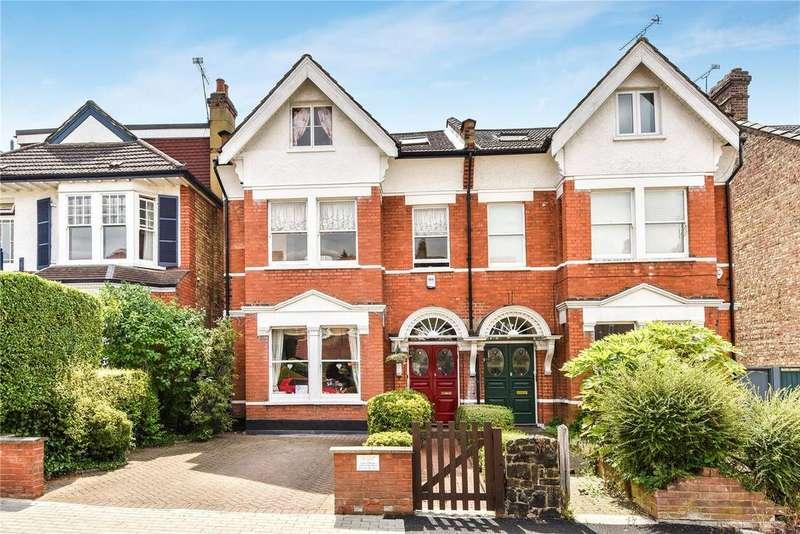5 Bedrooms Semi Detached House for sale in Holden Road, Woodside Park, London, N12