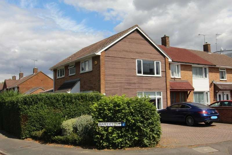 4 Bedrooms End Of Terrace House for sale in Merryhill Road, Bracknell, Berkshire, RG42 2DN