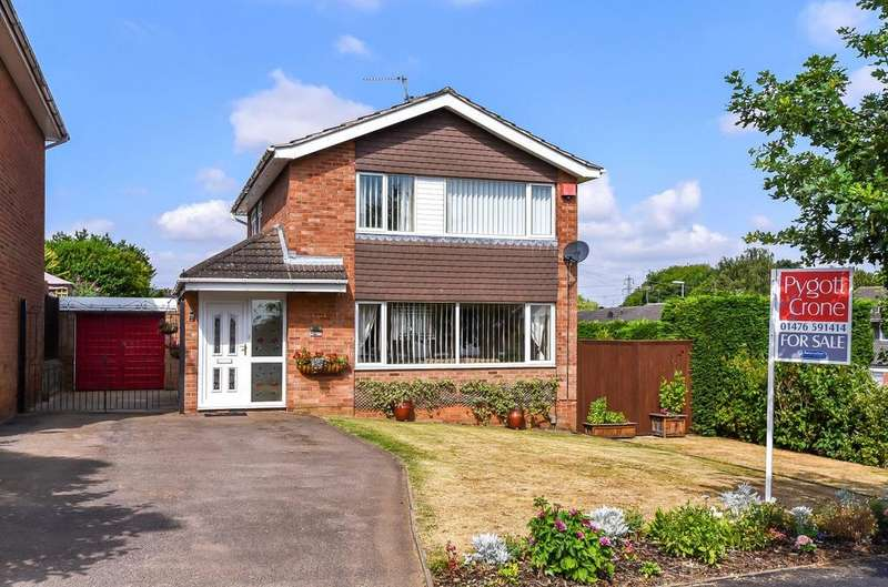 3 Bedrooms Detached House for sale in Barrowby Gate, Grantham, NG31
