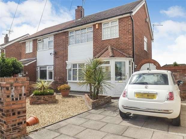 3 Bedrooms Semi Detached House for sale in Dorric Way, Crewe, Cheshire