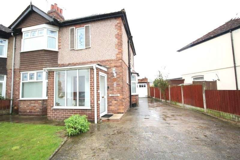 3 Bedrooms Semi Detached House for sale in Rowden Street, Shotton
