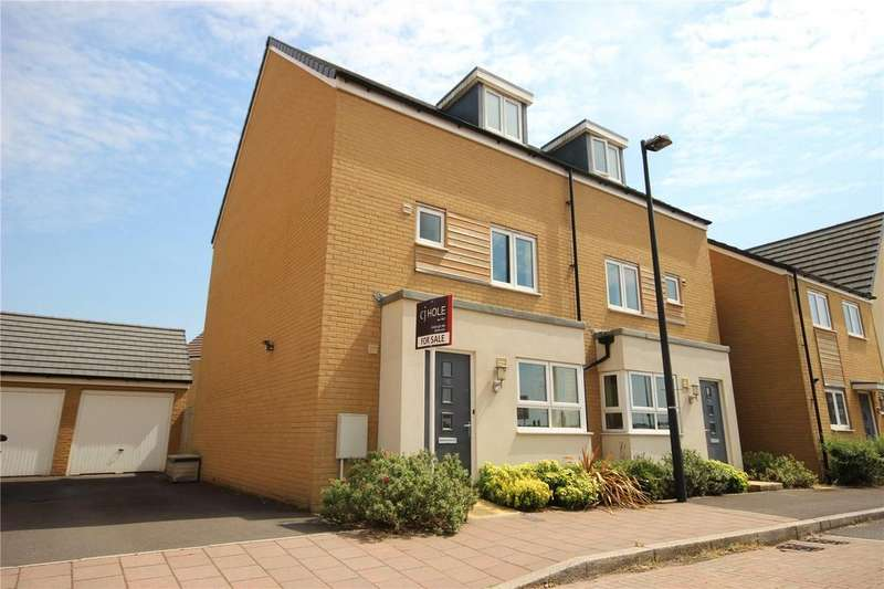 4 Bedrooms Semi Detached House for sale in Skinners Croft, Charlton Hayes, Patchway, Bristol, BS34