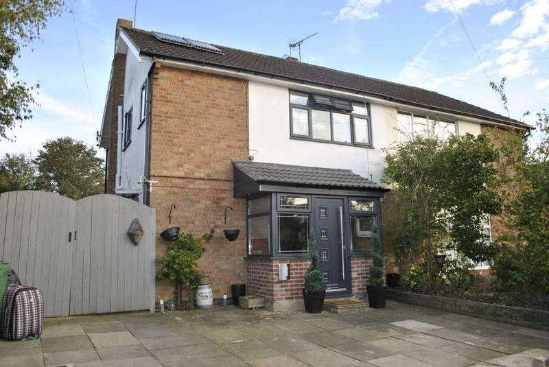 3 Bedrooms Semi Detached House for sale in Siskin Hill, Oadby, LE2