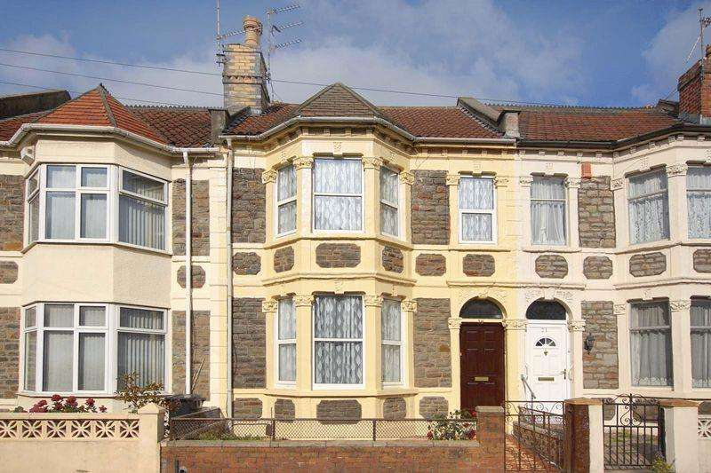 3 Bedrooms Terraced House for sale in Belle Vue Road, Bristol, Easton, Bristol, BS5 6DR