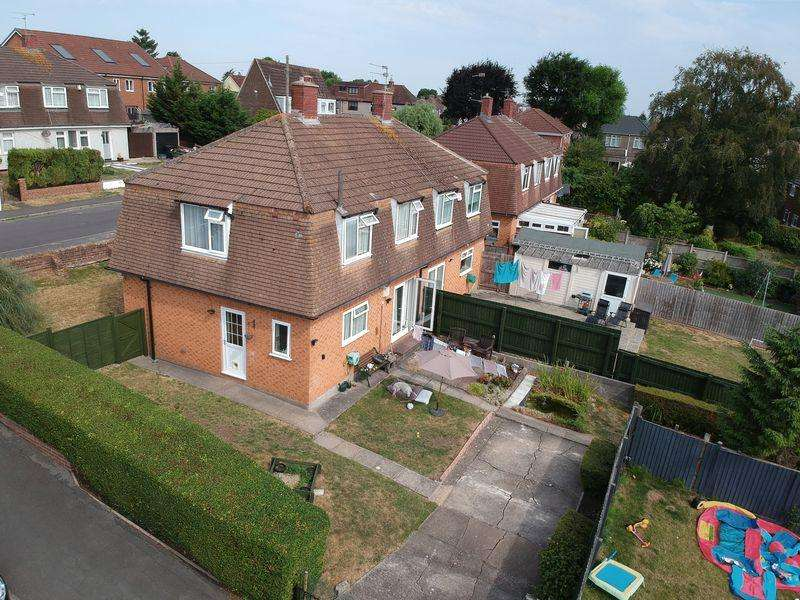 3 Bedrooms Semi Detached House for sale in Woodleigh Gardens, Whitchurch, Bristol, BS14