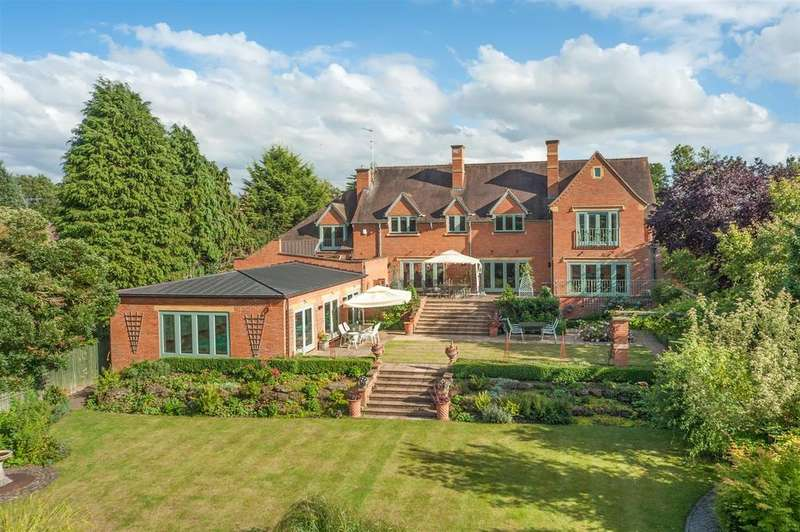 5 Bedrooms Detached House for sale in Alveston Lane, Alveston, Stratford-Upon-Avon, Warwickshire