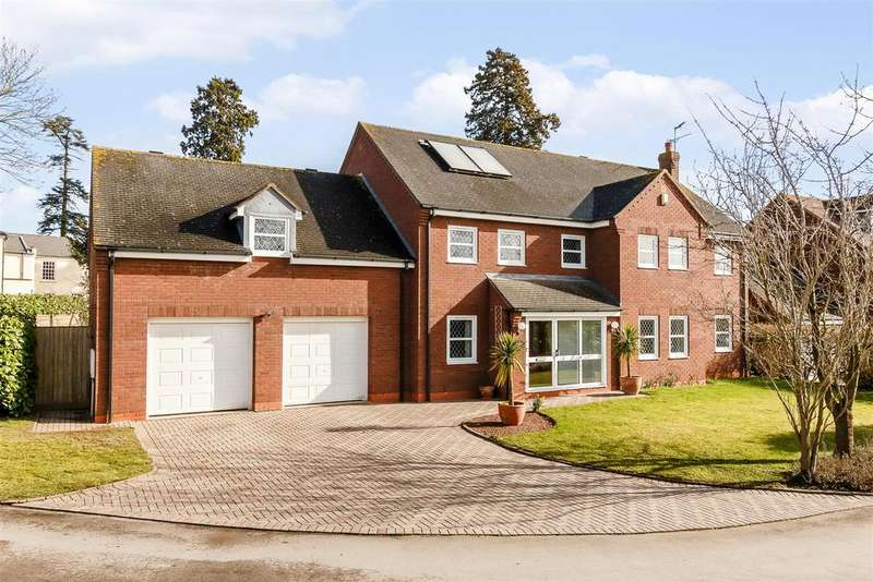5 Bedrooms Detached House for sale in Woodbury Park, Norton, WORCESTER, Worcestershire