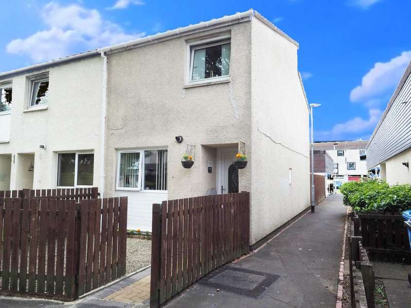 2 Bedrooms End Of Terrace House for sale in Culzean Place, Kilwinning KA13