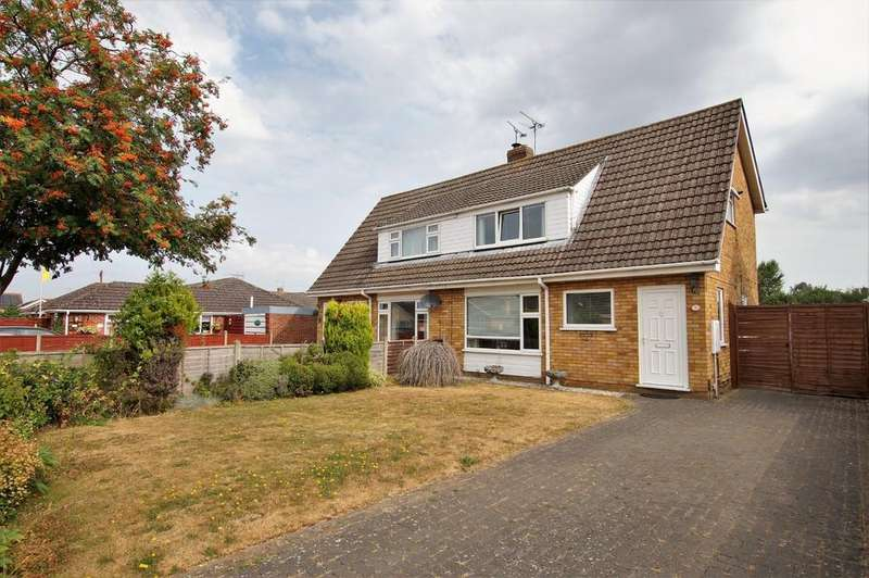 3 Bedrooms Semi Detached House for sale in Fir Tree Avenue, Waddington