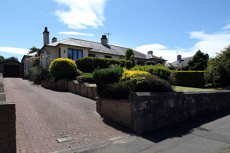 3 Bedrooms Semi Detached Bungalow for sale in Aberdour Road, Dunfermline, Fife, KY11 4PB