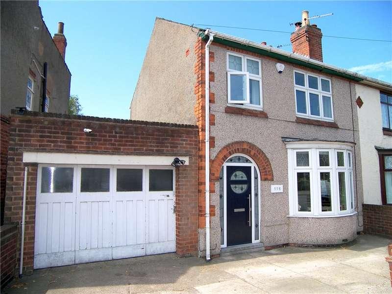 3 Bedrooms Semi Detached House for sale in Nottingham Road, Alfreton, Derbyshire, DE55